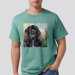 Newfoundland Painting Mens Comfort Colors Shirt