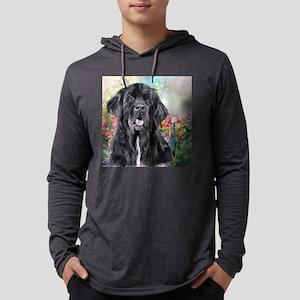 Newfoundland Painting Mens Hooded Shirt