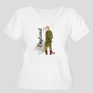 england Plus Size T-Shirt