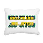 Jiu Jitsu Rectangular Canvas Pillow
