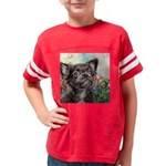 Chihuahua Painting Youth Football Shirt
