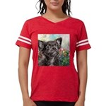 Chihuahua Painting Womens Football Shirt