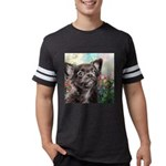 Chihuahua Painting Mens Football Shirt