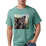 Chihuahua Painting Mens Comfort Colors Shirt