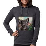 Chihuahua Painting Womens Hooded Shirt
