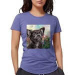 Chihuahua Painting Womens Tri-blend T-Shirt