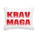 Krav Maga Rectangular Canvas Pillow