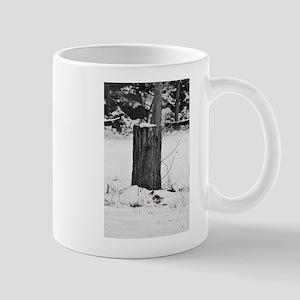 Cardinal in Winter Mug