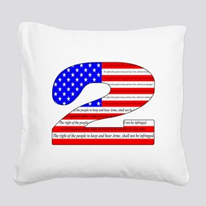 Keep our rights Square Canvas Pillow