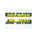Jiu Jitsu 5'x7'Area Rug