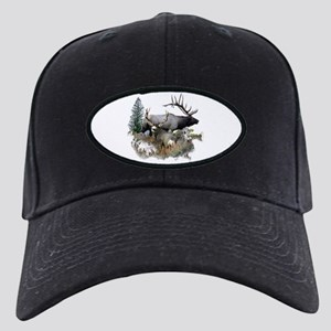 Buck deer bull elk Black Cap