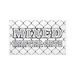 Mixed Martial Arts 3'x5' Area Rug