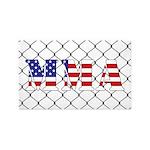 USA MMA 3'x5' Area Rug