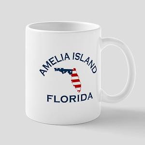 Amelia Island - Map Design. Mug