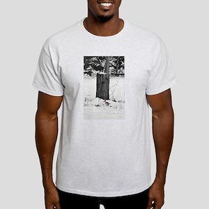 Cardinal in the snow Light T-Shirt