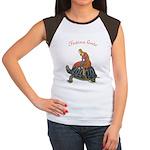 Festina Lente Women's Cap Sleeve T-Shirt