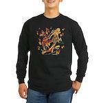 Rockin Wolf Long Sleeve Dark T-Shirt