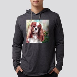 Cavalier King Charles Spaniel Painting Mens Hooded
