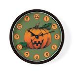 Jack O'lantern Wall Clock