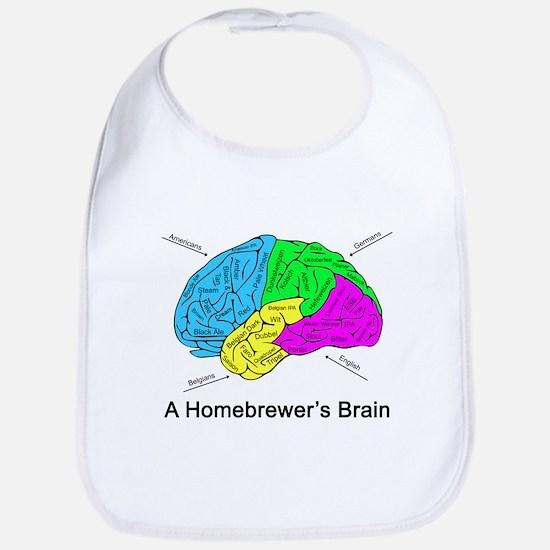A Homebrewer's Brain Bib