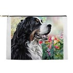 Bernese Mountain Dog Painting Makeup Pouch