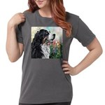 Bernese Mountain Dog Painting Womens Comfort Color