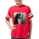 Bernese Mountain Dog Painting Youth Football Shirt