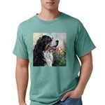 Bernese Mountain Dog Painting Mens Comfort Colors