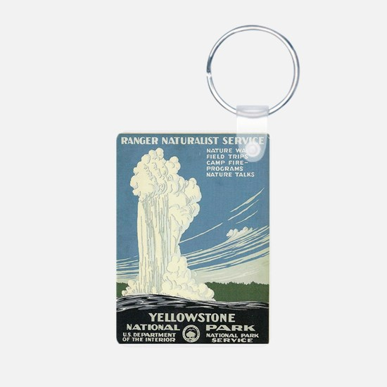 Yellowstone National Park Keychains