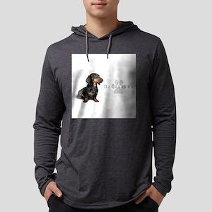 Dachshund Mens Hooded Shirt