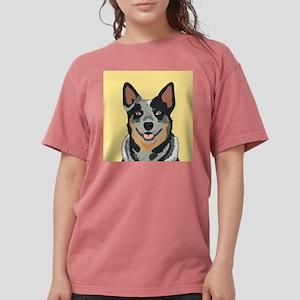Australian Cattle Dog Womens Comfort Colors Shirt