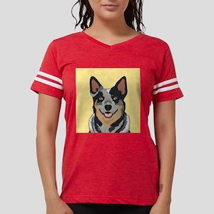 Australian Cattle Dog Womens Football Shirt