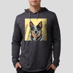 Australian Cattle Dog Mens Hooded Shirt