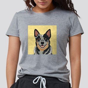 Australian Cattle Dog Womens Tri-blend T-Shirt