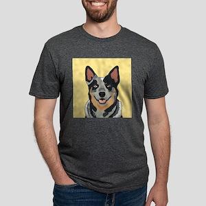 Australian Cattle Dog Mens Tri-blend T-Shirt