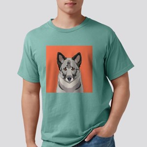 Norwegian Elkhound Mens Comfort Colors Shirt