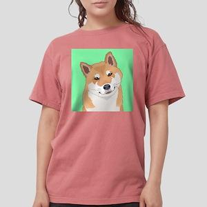 Shiba Inu Womens Comfort Colors Shirt