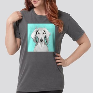 Saluki Womens Comfort Colors Shirt