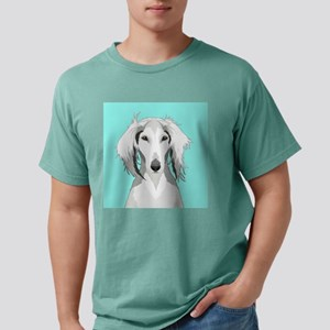 Saluki Mens Comfort Colors Shirt