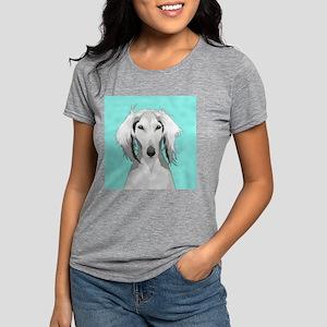 Saluki Womens Tri-blend T-Shirt