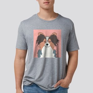 Papillon Mens Tri-blend T-Shirt