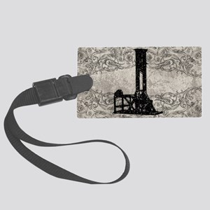 Guillotine Large Luggage Tag