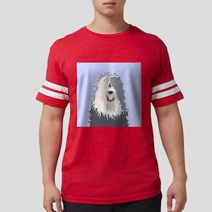 Old English Sheepdog Mens Football Shirt