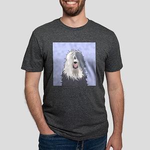 Old English Sheepdog Mens Tri-blend T-Shirt