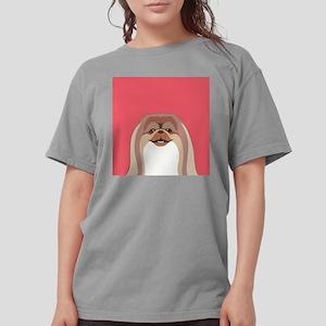 Pekingese Womens Comfort Colors Shirt