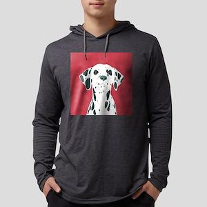 Dalmatian Mens Hooded Shirt