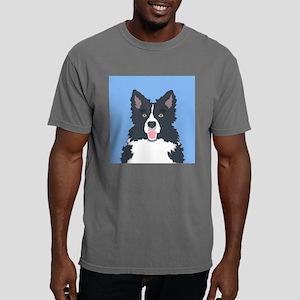 Border Collie Mens Comfort Colors Shirt