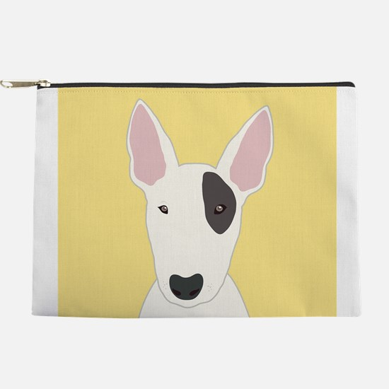 Bull Terrier Makeup Pouch