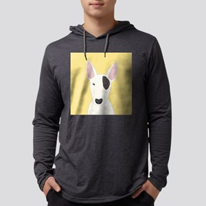 Bull Terrier Mens Hooded Shirt