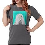 Afghan Hound Womens Comfort Colors Shirt